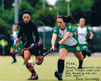 Aine Connery Ireland Hockey